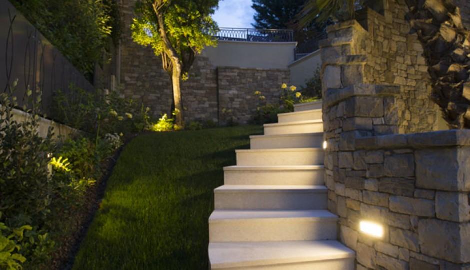 Pavimenti e luci per esterni
