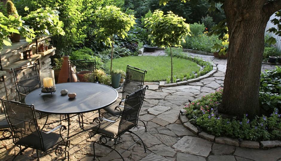 Pavimenti in pietra per giardini