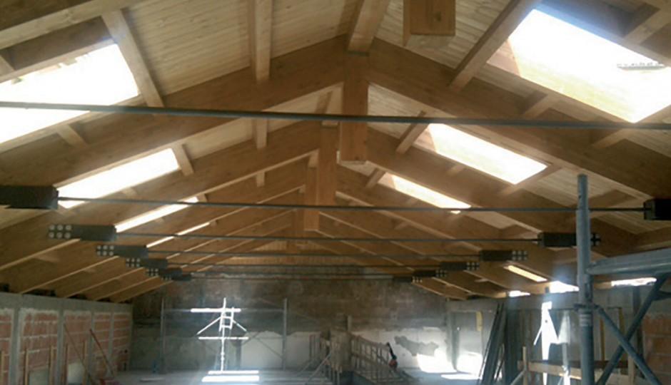 BCT - Rifacimento tetti in legno