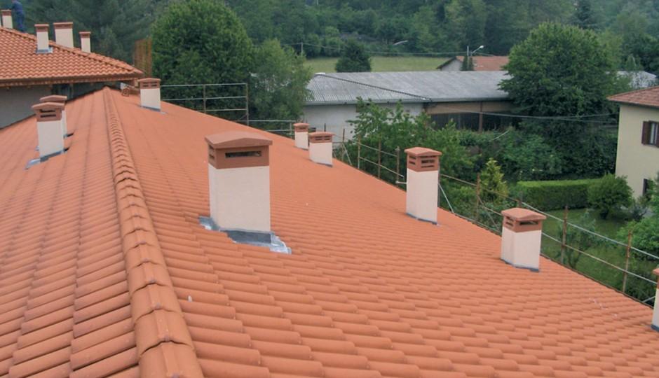 BCT - Rifacimento tetti in coppi con smaltimento eternit