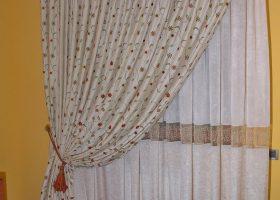 Florio-Tende interni arricciate